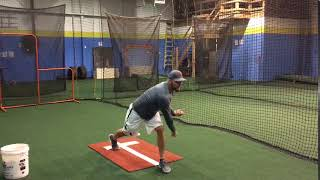 Help Pitchers with Their Follow Through with this Drill