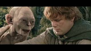 Голлум и Сэм спорят о том какая еда вкуснее. HD