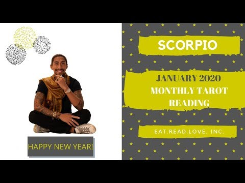 "SCORPIO - ""READY FOR LIFE BUT READY FOR THEM TO COME BACK?"" JANUARY 2020 MONTHLY TAROT READING"