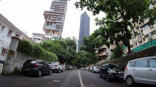 4K Drive on Altamount Rd   Mumbai's Billionaire Row   Mumbai, IN