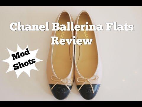Chanel Classic Ballerina Flats Review + Mod Shots