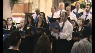 Video: Χορωδία Φιλαρμονικής Κορακιάνας ''Σπύρος Σαμάρας''