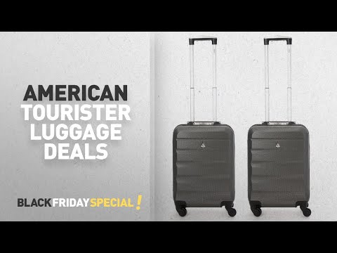 Top Black Friday American Tourister Luggage Deals: Aerolite ABS Hard Shell Lightweight 4 Wheel Carry