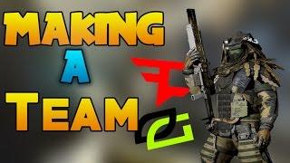 I'm making a Team