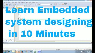Introduction to Embedded system programming|KEIL+PROTEUS+LED PROGRAM+CIRCUIT DESIGN LEARN IN HINDI