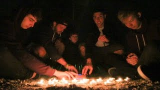 """OUIJA BOARD CHALLENGE AT """"SUICIDE BRIDGE"""" (SOMETHING ATTACKED US!)"""
