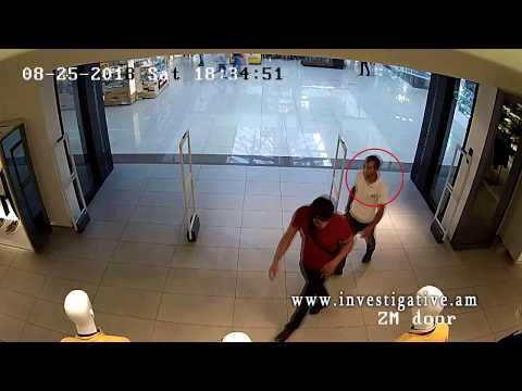Գողություն՝ Երևանում գործող խանութ-սրահից (տեսանյութ)