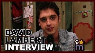Shine on Media - David Lambert Talks THE FOSTERS Season 2 Romance, Brallie & More