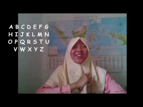 Indonesian Alphabet - Learning Indonesian Language