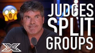GOING SOLO! - When Judges Try To SPLIT Groups | X Factor Global