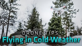Tips for Flying Your Drone in Cold Weather: From Where I Drone with Dirk Dallas