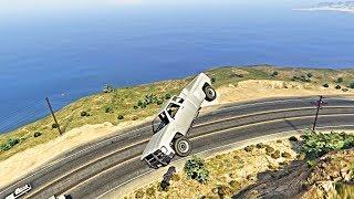 GTA V Unbelievable Crashes/Falls - Episode 108
