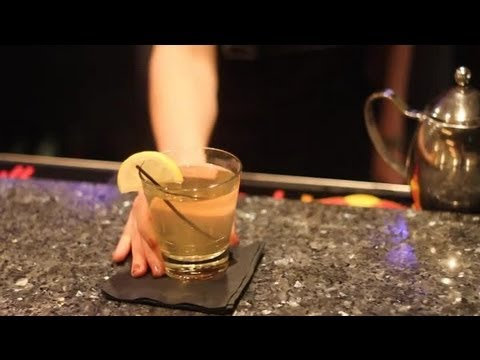 Video How to Make a Hot Toddy With Whiskey : Gourmet Cocktails & Dessert Martinis