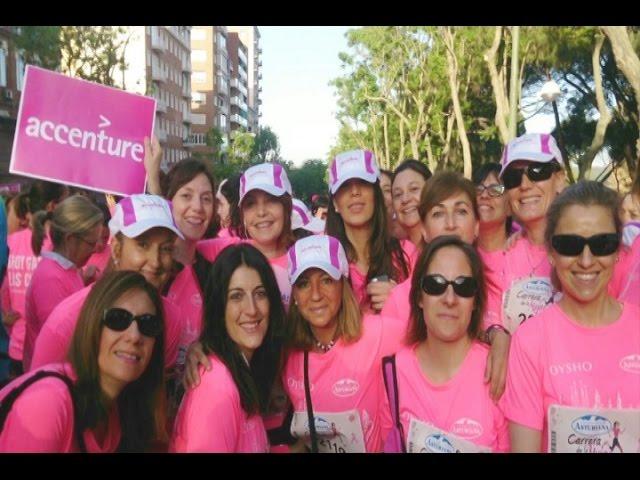 250 mujeres de Accenture, en la Carrera del Día de la Mujer