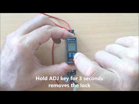 Ucontrol Pty Ltd digital DIN rail timer video