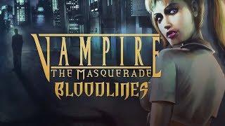 Vampire: The Masquerade — Bloodlines (Путь Малкавиан) #1 Кровь без ГМО