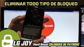 LG-h221g JOY Hard Reset (BLOQUEO DE PATRON)
