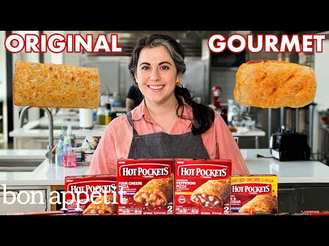 Pastry Chef Attempts to Make Gourmet Hot Pockets   Gourmet Makes   Bon Appétit