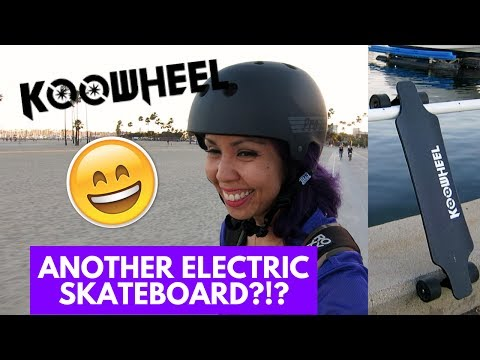 ELECTRIC SKATEBOARD CHEAP? KOOWHEEL UNBOXING, TEST RIDE, AND REVIEW | Vlog 129