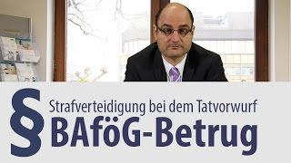 preview picture of video 'BAföG-Betrug | Rechtsanwalt | Heidelberg'
