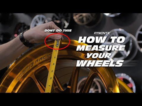 How To Measure Your Wheels (Diameter, Width, Offset, and Backspacing)