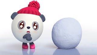 Малышарики - Обучающий мультик для малышей - Все серии про Пандочку🍬👣-  сборник