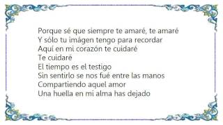 Jon Secada - Sólo Tu Imagen Lyrics