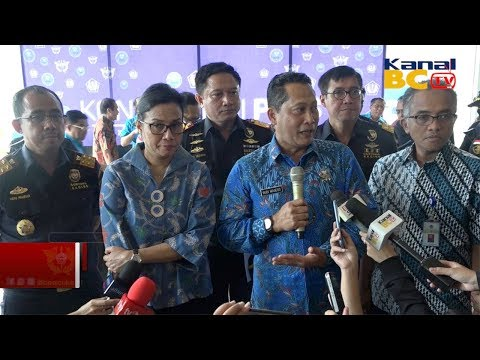 Konferensi Pers Bersama Penggagalan 40kg Sabu Aceh