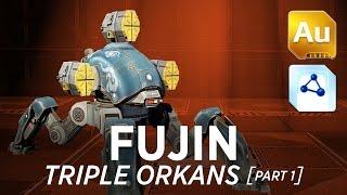 War Robots [WR] - Fujin Triple Orkans (w/ gameplay) - 1/2