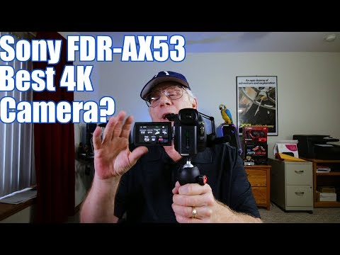 Pros and Cons of the Sony FDR-AX53 for YouTube Videos