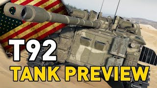World of Tanks || T92 Light - Tank Preview