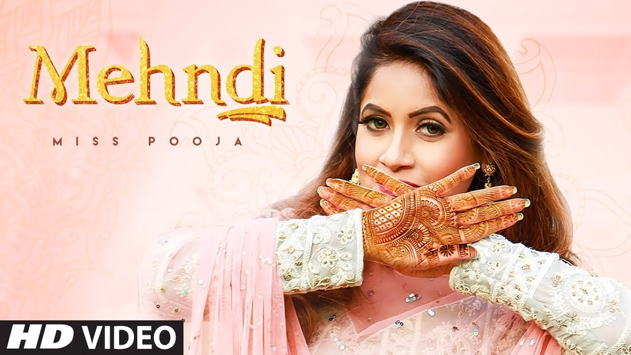 Mehndi (Full Song) Lyrics | Miss Pooja| | Dj Ksr | Yaad | Latest Punjabi Songs 2020 | LyricsMegeet