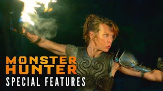 MONSTER HUNTER Special Features Clip – Milla's Weapons | Now on Digital!