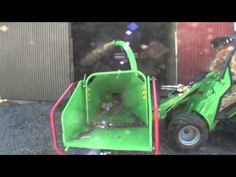 Avant Flishugger CH150 Heavy Duty - film på YouTube