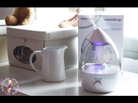 Humidificador de vapor frio Minidrop de Miniland