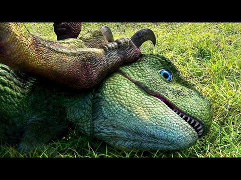 DINO KING Tráiler Español Latino [Animación - Familia - Dinosaurio]