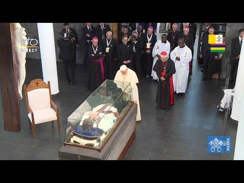Visite du pape François au Sanctuaire du Père Laval