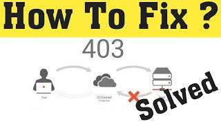 How To Fix Roblox 403 Forbidden Error - Google Chrome