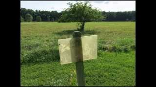 preview picture of video 'USA: Bellevue State Park Disc Golf Course in Delaware 2013'