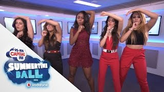 Fifth Harmony Teach You The 'Worth It' Dance