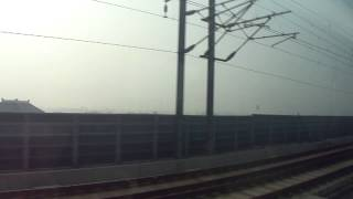 preview picture of video 'Asia Trip #8 - Chinese High Speed Train - Hangzhou to Shanghai'