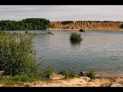 На Борницком карьере - чистые берега