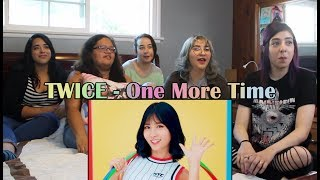 """TWICE   """"One More Time"""" Japanese MV Reaction"""