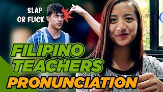Filipino English Teachers In BECI (Quick Pronunciation Game)