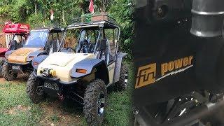 UTV Anak Bangsa, Fin Komodo KD 250 X Memakai Mesin Buatan Sendiri