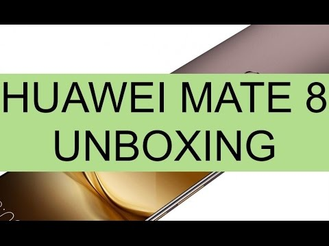Foto Unboxing Huawei Mate 8 e prime impressioni
