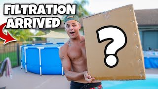 My *NEW* FILTRATION for POOL POND is HERE!! (special news)
