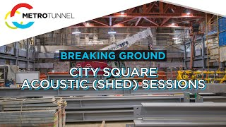 Breaking Ground: Acoustic Shed construction at City Square