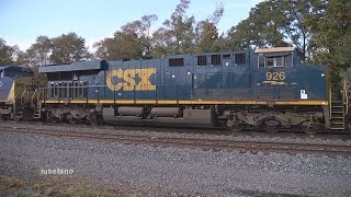 preview picture of video '(20) Hot CSX Intermodal @ Westfield  Oct. 10 2014'