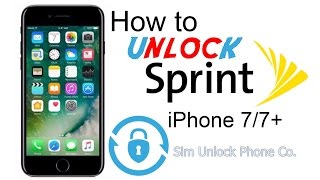 How to Unlock Sprint iPhone 11/X/8/7 Models by IMEI from Carrier Lock and Use any Carrier Sim Card